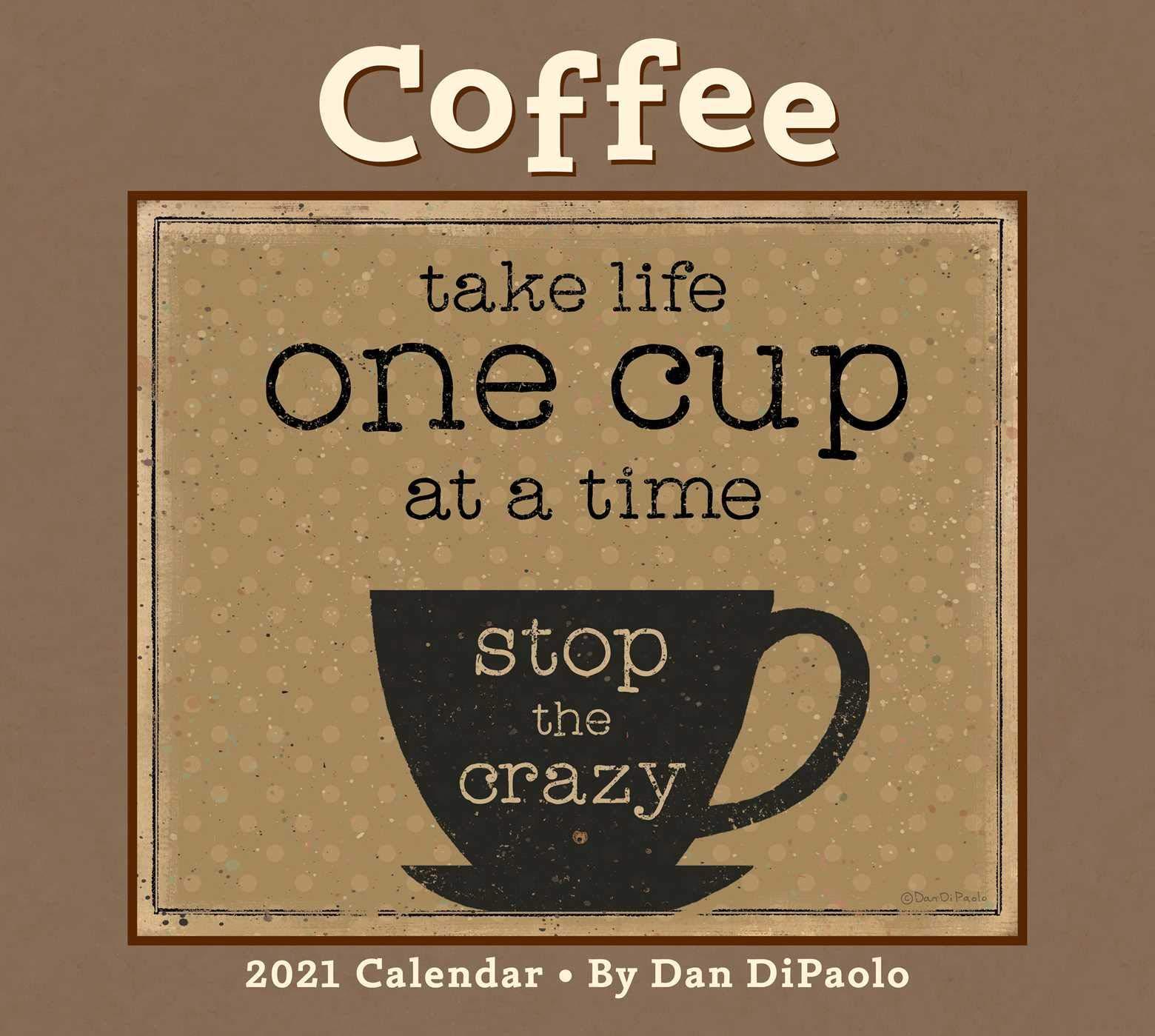 Coffee Calendar 2021 Photos
