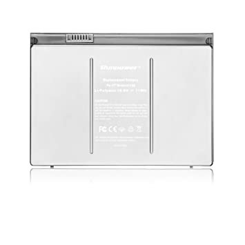 Nueva batería del ordenador portátil Runpower para Apple A1189 A1151 A1212 A1229 A1261 Macbook Pro 43