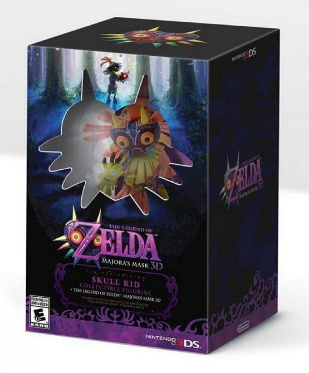 THE LEGEND OF ZELDA - MAJORAS MASK 3D - SKULL KID FIGURE - LIMITED EDITION: Amazon.es: Juguetes y juegos