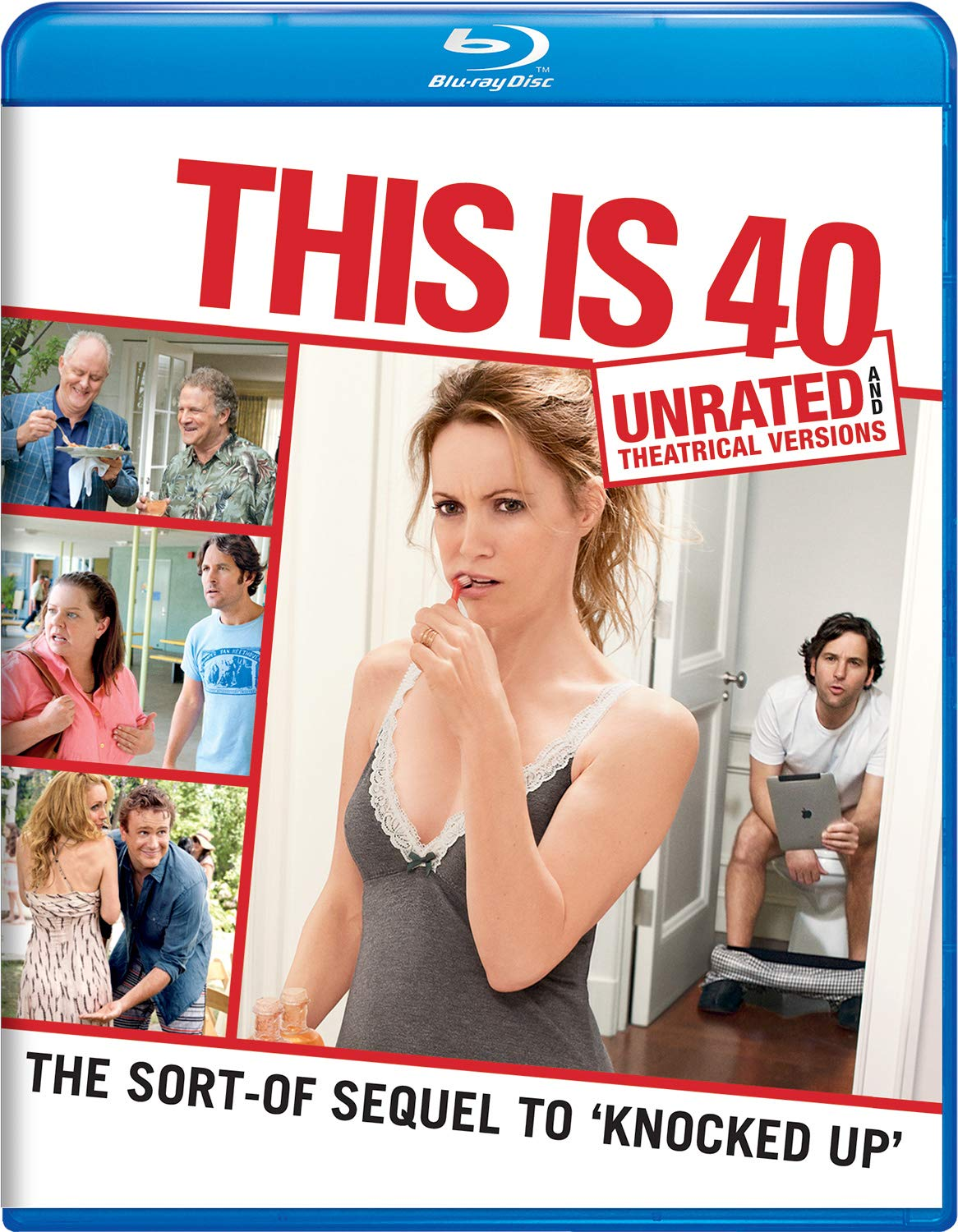 Blu-ray : This Is 40 (Unrated Version)