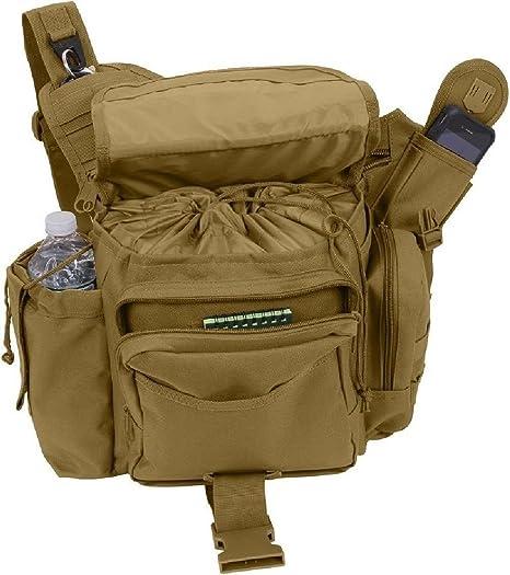 Amazon.com  Coyote Brown Xl Advanced Molle Advanced Tactical Travel ... 43e423c6b35