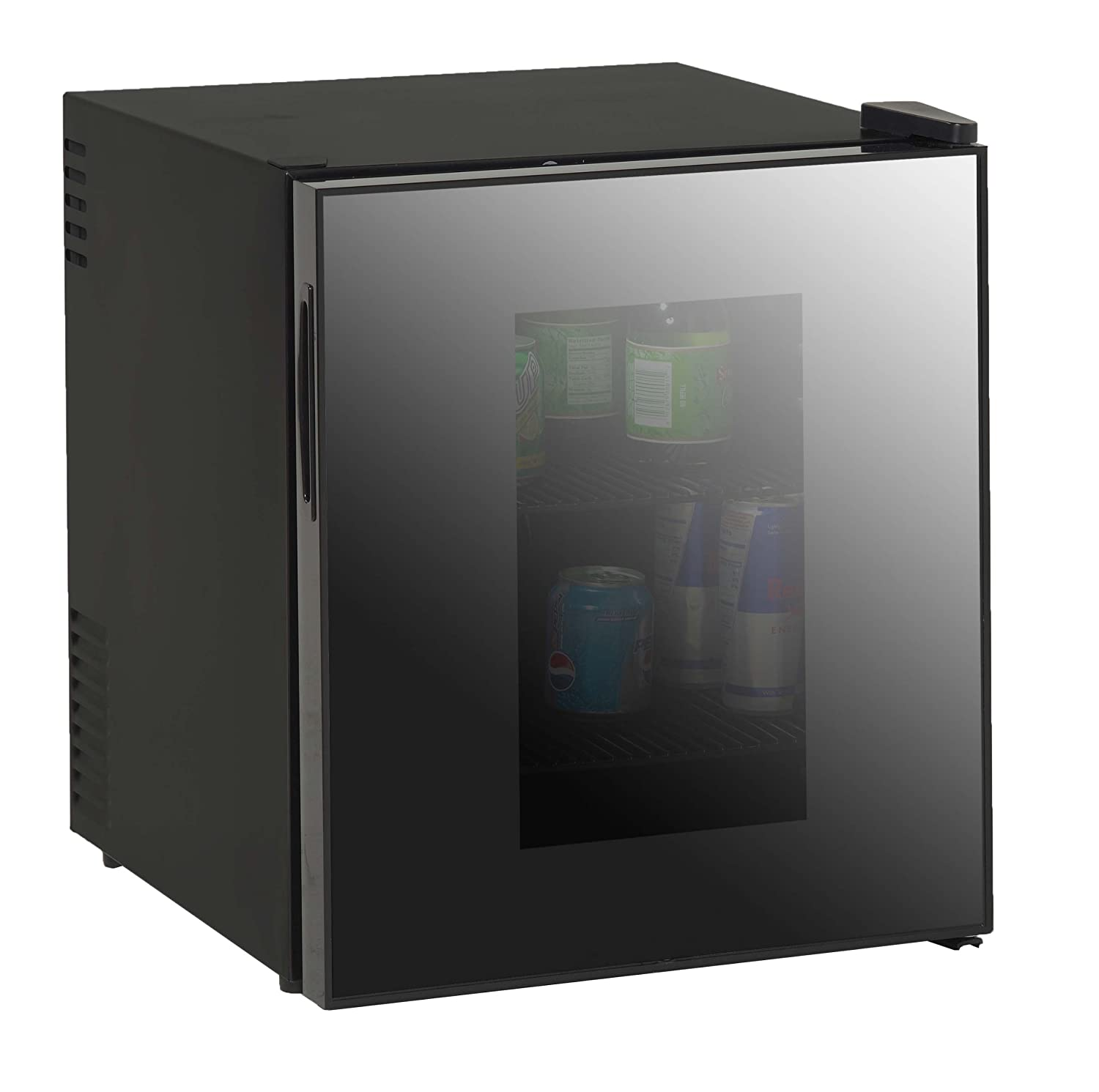 Avanti 1.7-Cubic Foot Superconductor Beverage Cooler W/Mirrored Finish Glass Door SBCA017G