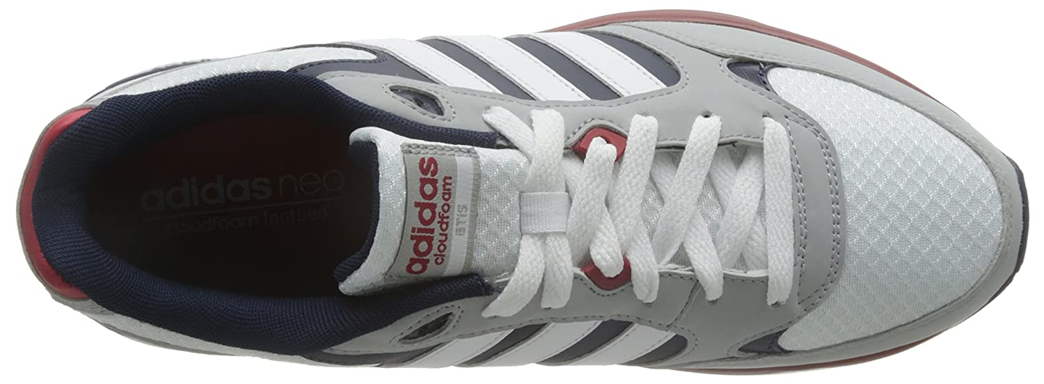 buy online e7b3d 393ed adidas Cloudfoam 8TIS - Trainers for Men, 40 2 3, White  Amazon.co.uk  Shoes    Bags