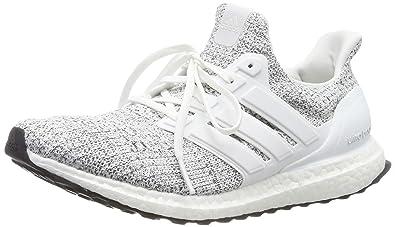 7a192b7bb9c adidas Herren Ultraboost Laufschuhe Weiß (Non-Dyed Footwear White Grey 0)