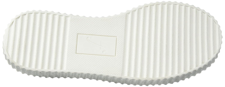The Fix Women's Talon Slip-on Poms Fashion Sneaker B072V7N7XT 7.5 B(M) US|Black Suede