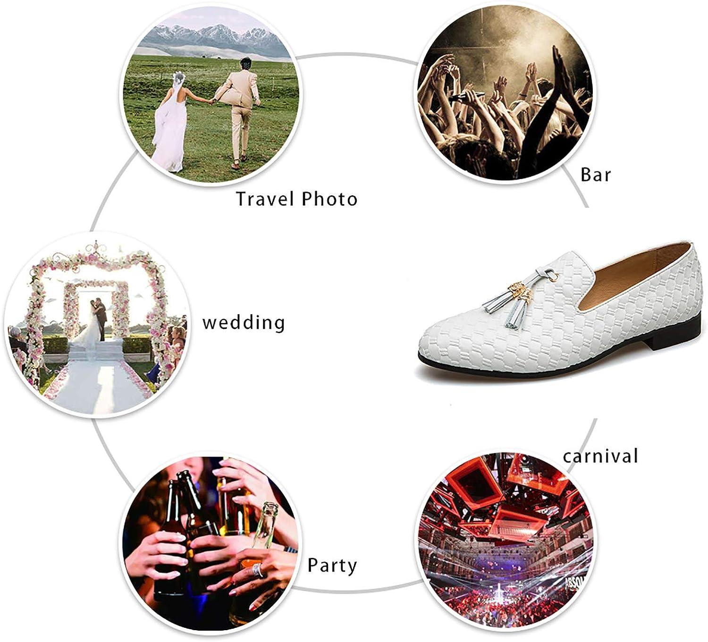 JITAI Mocassins d/écontract/és pour Hommes Chaussures /él/égantes pour Hommes