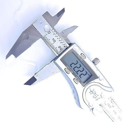 Calibre digital, 150 mm, IP54, acero inoxidable, incluye ...