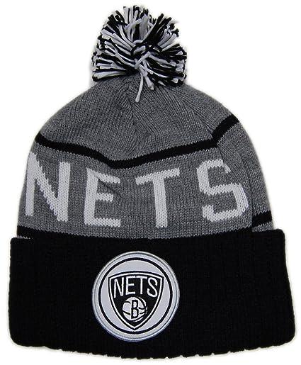 c0d1849d352 Amazon.com   NBA Brooklyn Nets Beanie   Sports Fan Beanies   Sports    Outdoors
