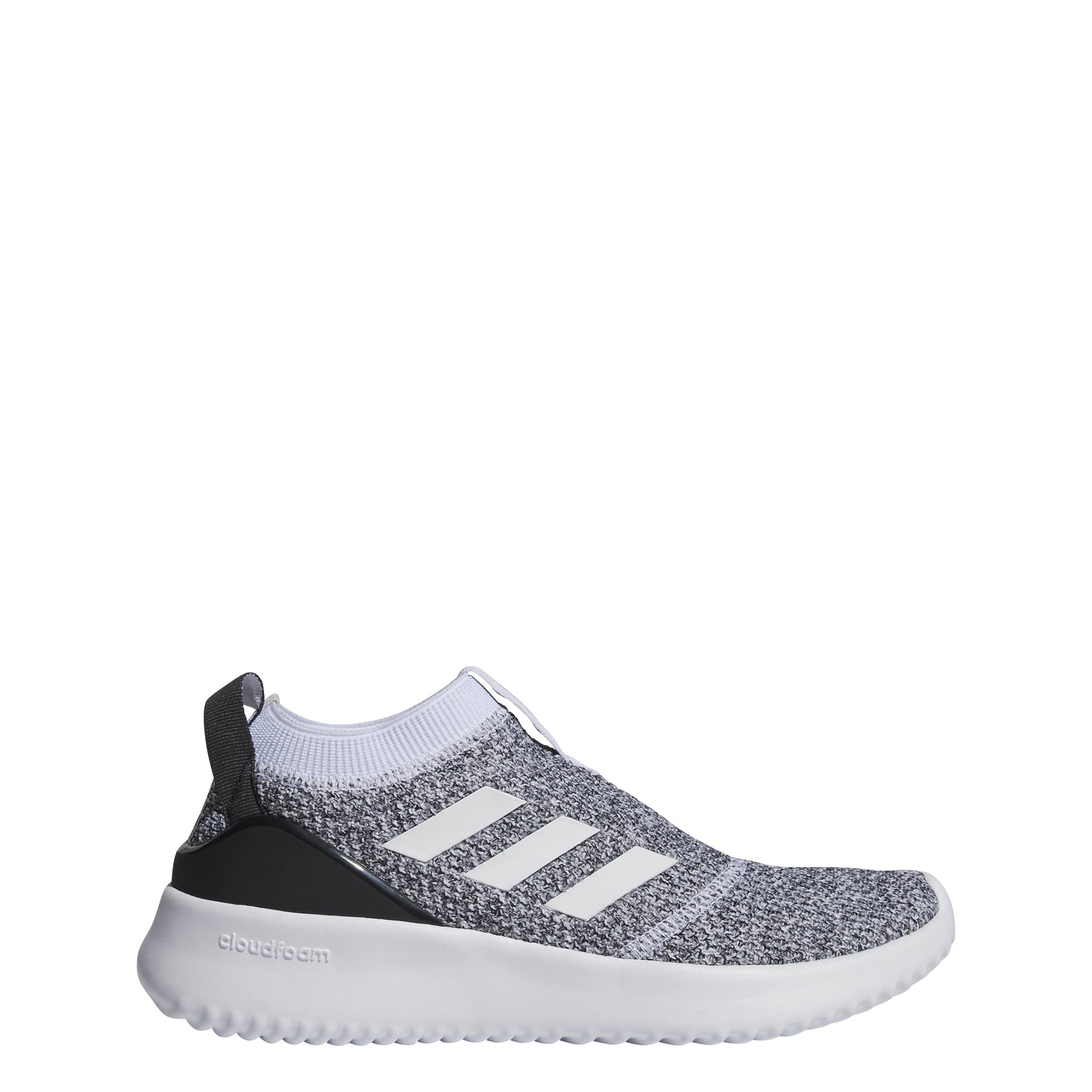 adidas Women's Ultimafusion Running Shoe, White/White/Black, 8 M US by adidas (Image #1)