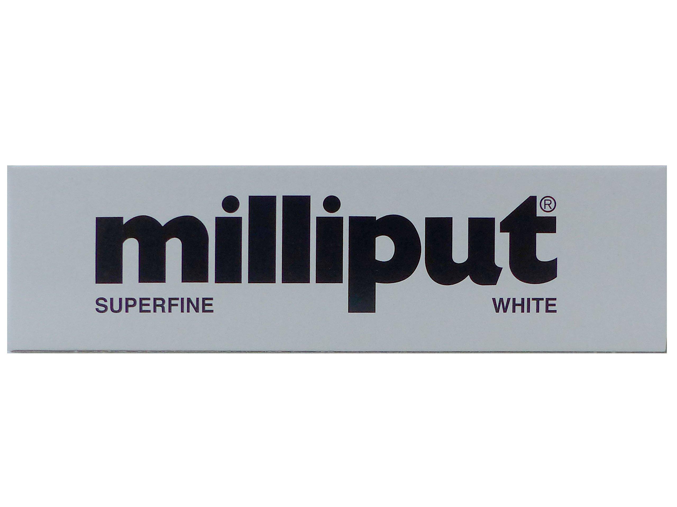 Milliput Superfine 2-Part Self Hardening Putty, White product image