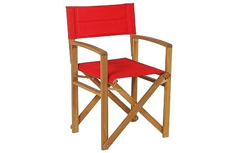Sedia regista alluminio bianca sedia doctor one home living