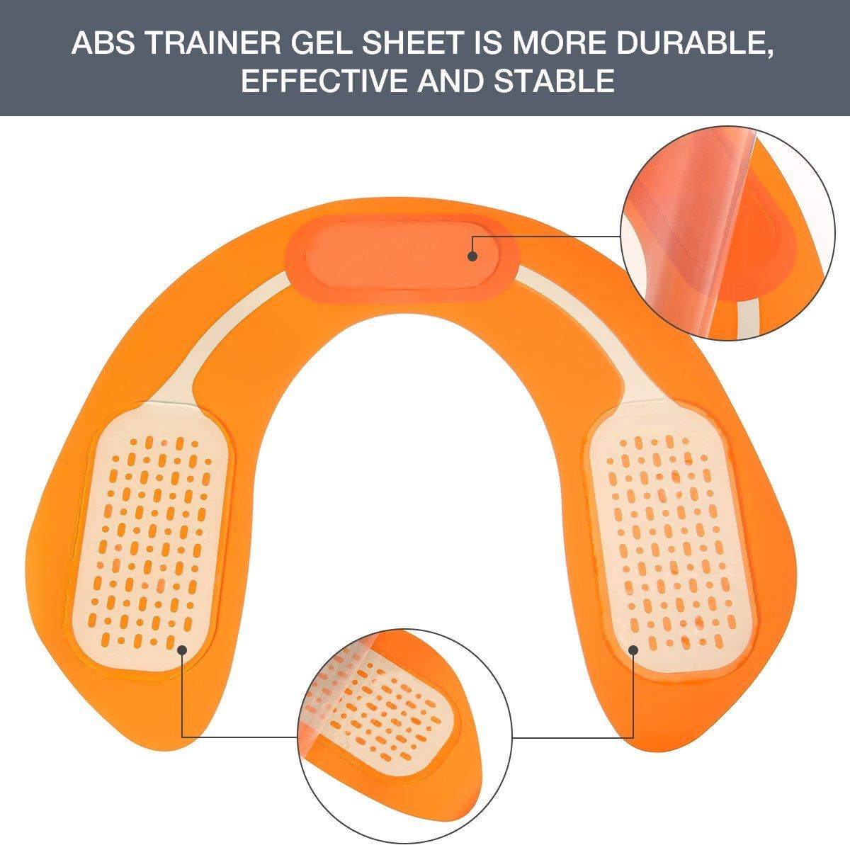 Hips Electrostimulateur Intelligent Portable Massage pour Aider /à Fa/çonner Le Muscle et /à Sculpter Les Courbes EMS Massage Musculaire