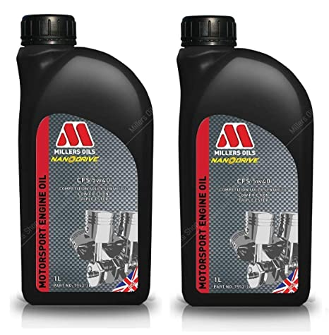 Millers CFS 5W40 Competition - Aceite para Motor Nanodrive (2 L)