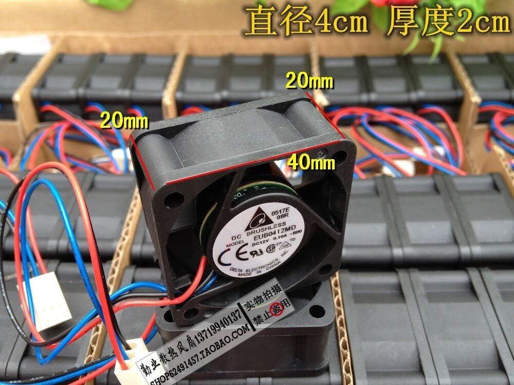 brand new Delta 4cm 4020 DC12V 0.10A EUB0412MD-R00 40 40 20mm Mute switchboard fan