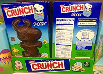 Amazoncom Nestle Crunch Snoopy Bar 45oz Grocery Gourmet Food