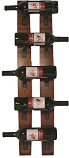 product image for 2-Day Designs 5-Bottle Wall Rack