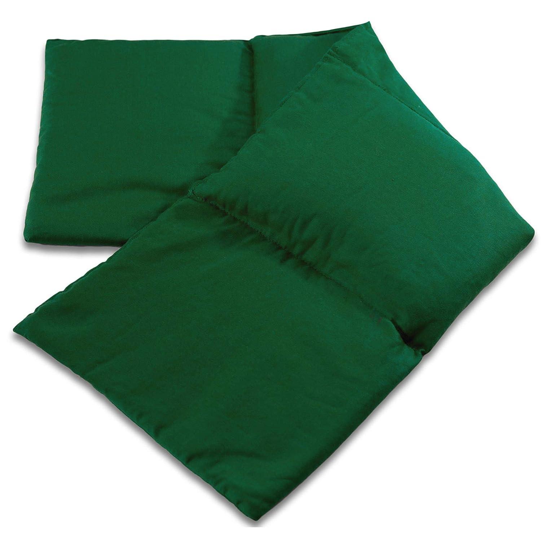 Saco térmico compartimentado en 4 con semillas de lino 60x20cm ...