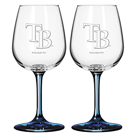 345c1e686e61 Image Unavailable. Image not available for. Color: Boelter Brands MLB Satin  Etch 2-Ounce Wine Glass ...