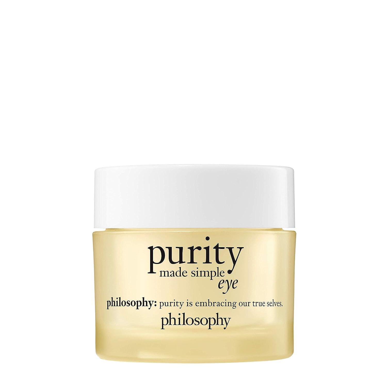 philosophy purity made simple eye gel, 0.5 oz