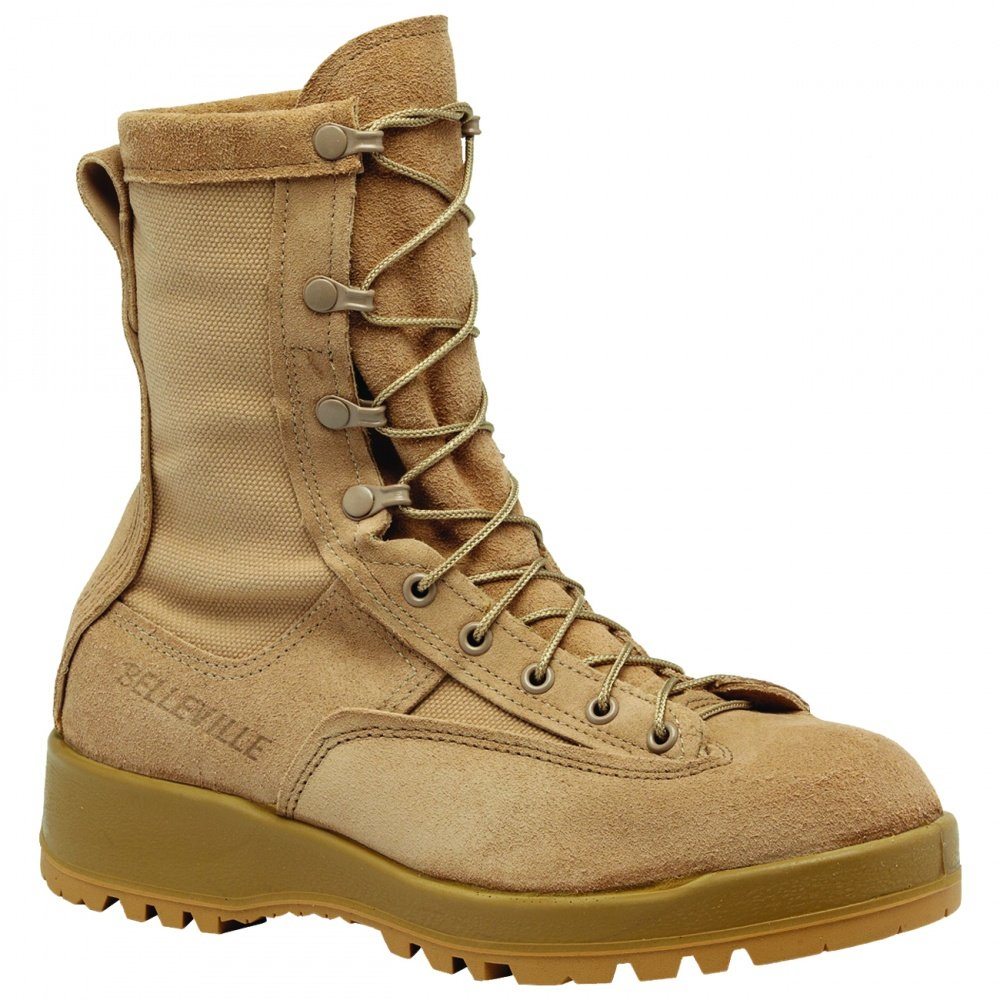 Belleville 790stメンズ防水Steel Toe Combat Boot B001HPMESI 6.5 2E US|タン タン 6.5 2E US