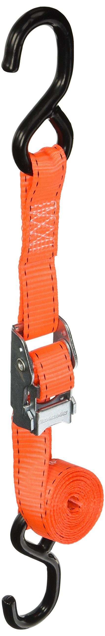 Erickson 05740 Sportsman Tie-Down Strap with Cam Lock, 4 Pack (1'' x 6' long, 2000lb Load Capacity)