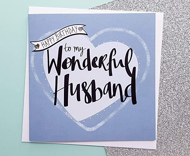 Husband Birthday Card Romantic Gifts For Him Amazoncouk Handmade