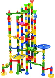 Amazon periodic table wood block tower stacking game edushape marbulous marble run track set 202 pieces 50 marbles stem learning toy educational urtaz Gallery