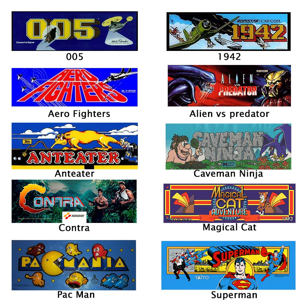 Handheld Game Console, Classic Game Case, Pocket Game Console 3000 Games - Support for Downloading Multi Format Games for Classic Game Fans by Womdee (Image #2)