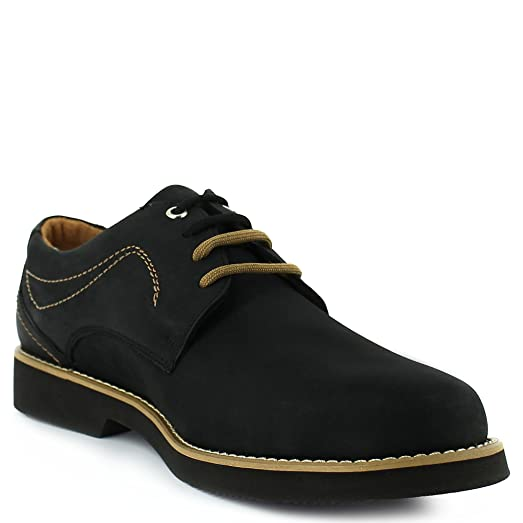 Casual Black Suede Comfort Shoe With Colored Laces.