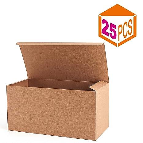 Amazon.com: Mesha reciclado cajas de papel cajas de regalo 9 ...