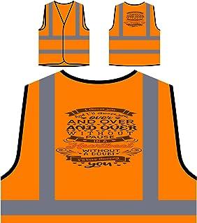 Io Ti Scelgo E Malato 2 Personalizzato Hi Visibilità Giacca Gilet Arancione di sicurezza s976vo