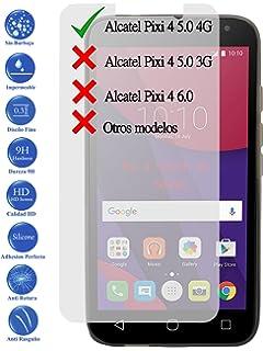 Todotumovil Protector de Pantalla Cristal Templado Vidrio Premium para Alcatel Pixi 4 5.0 4G