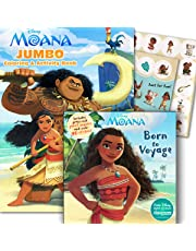 Disney Moana Coloring & Stickers Activity Books
