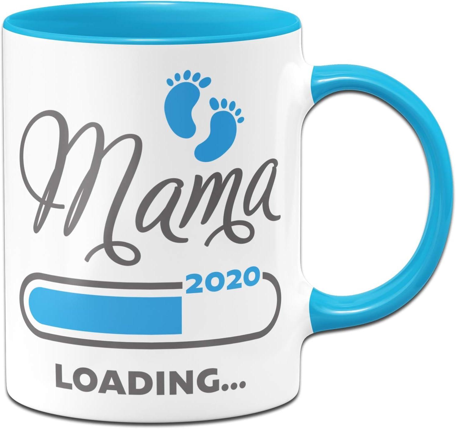 Taza con Texto en alemán Mama Loading 2020