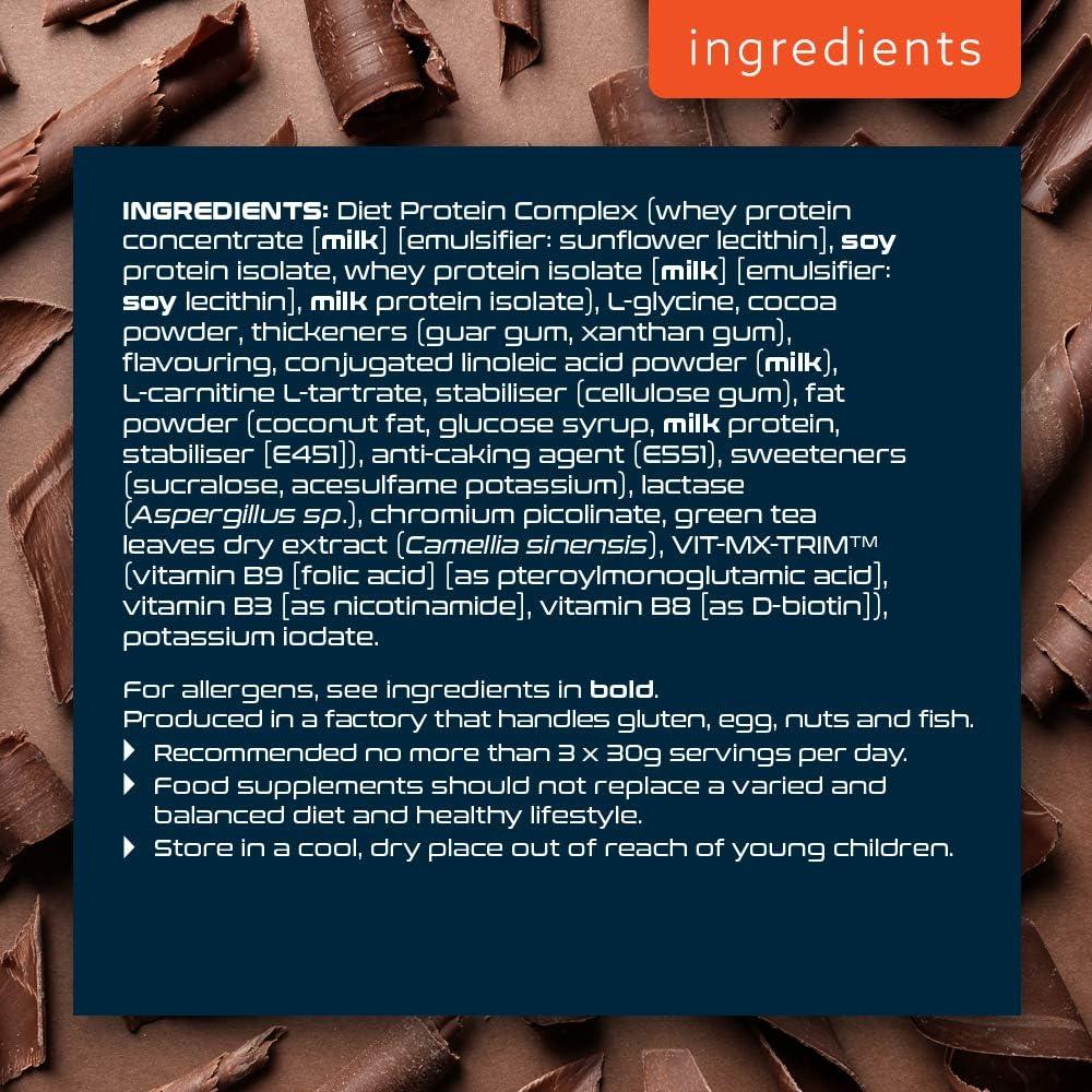 SCI-MX Nutrition Diet Pro Protein - Batido de proteínas mejorado con nutrientes de apoyo a la dieta.