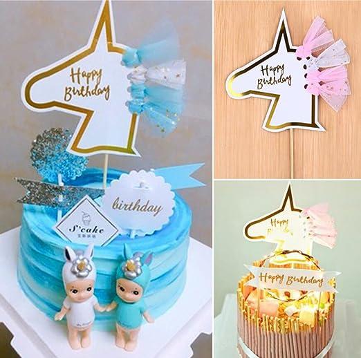 Unicornio decoración para tarta para, kootips unicornio ...