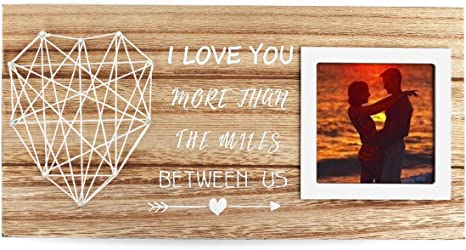 Boyfriend Gift States Frame I Exist In Two Places Valentine/'s Day Gift Long Distance Love Picture Frame Girlfriend Gift Valentine Gift