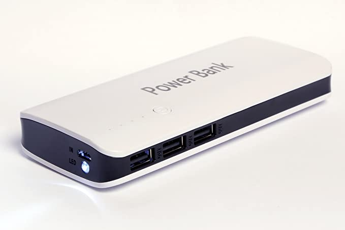 Mircea 20 000 mAh Triple Salida USB rápido Cargador de batería ...