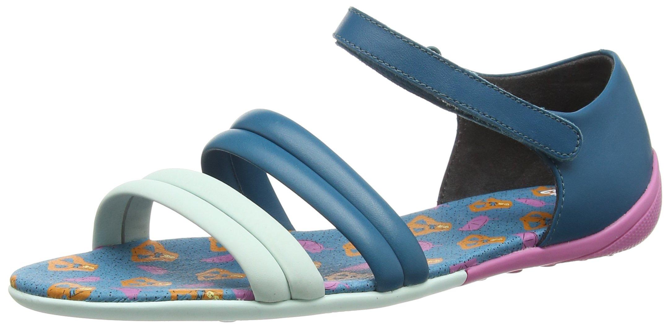 Camper Women's Peu Circuitsandal Sandal, Turquoise Aqua, 39 EU/9 M US