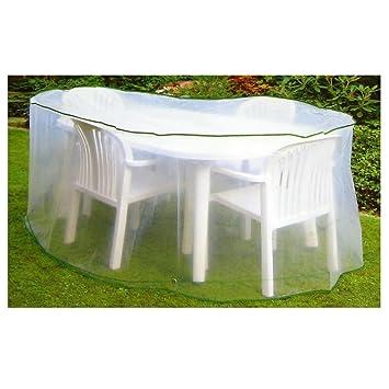 Connex Gartenmöbel Schutz / Abdeckhülle Für Gartenmöbel 230 X 160 Cm Oval X  90 Hoch