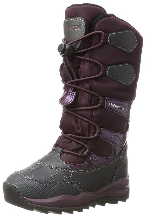 Geox J Orizont B ABX a, Botas de Nieve para Niñas, Morado (Violet), 29 EU
