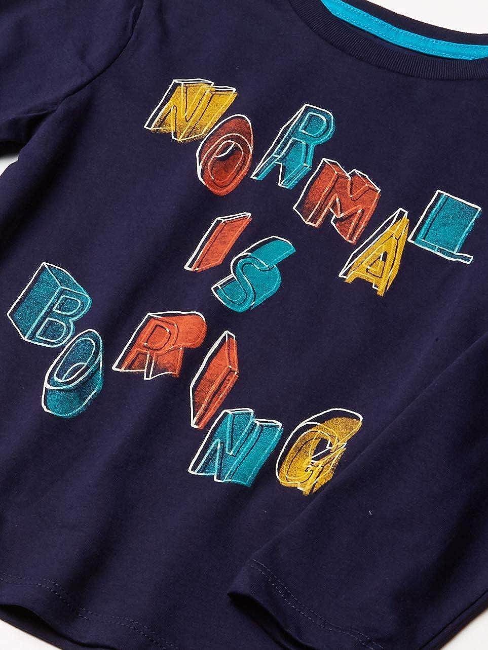Marca Spotted Zebra Pack de 5 camisetas de manga larga para ni/ño