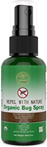 Rewind With Nature Bugs Repel Insect Spray Citronella Lemon Eucalyptus- All Natural Organic Essential Oil Spray Plus Frankincense Lavender,Lemongrass