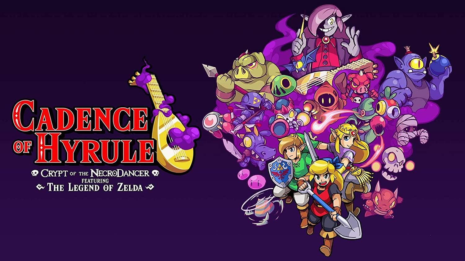 Amazon Com Cadence Of Hyrule Crypt Of The Necrodancer Featuring The Legend Of Zelda Nintendo Switch Digital Code Video Games