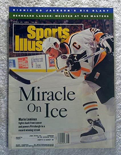 new concept 731fe 279d7 Amazon.com: Miracle on Ice - Mario Lemieux fights back from ...