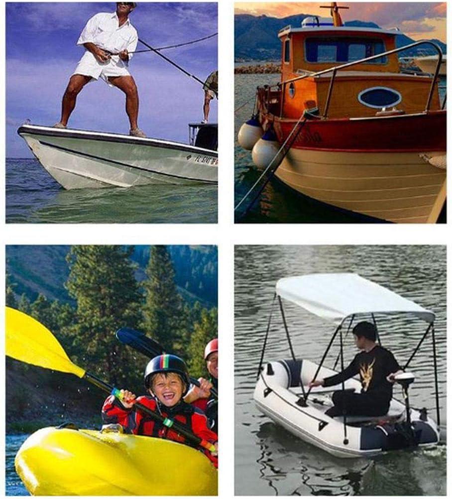evergreemi Kajakanker Mehrere Gr/ö/ßen Bootsanker mit Faltbarer Klaue Perfekt f/ür Kajakkanus Kleine Boote und Jollen Klappbarer Grapnel-Anker mit 7m Seil