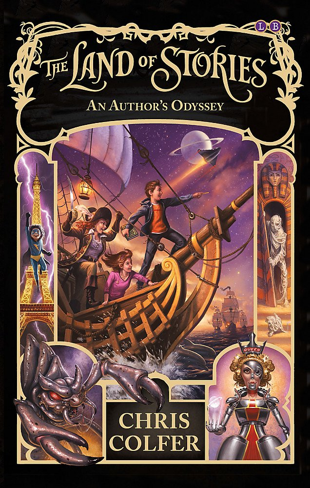 An Author's Odyssey: Book 5 (The Land of Stories, Band 5)