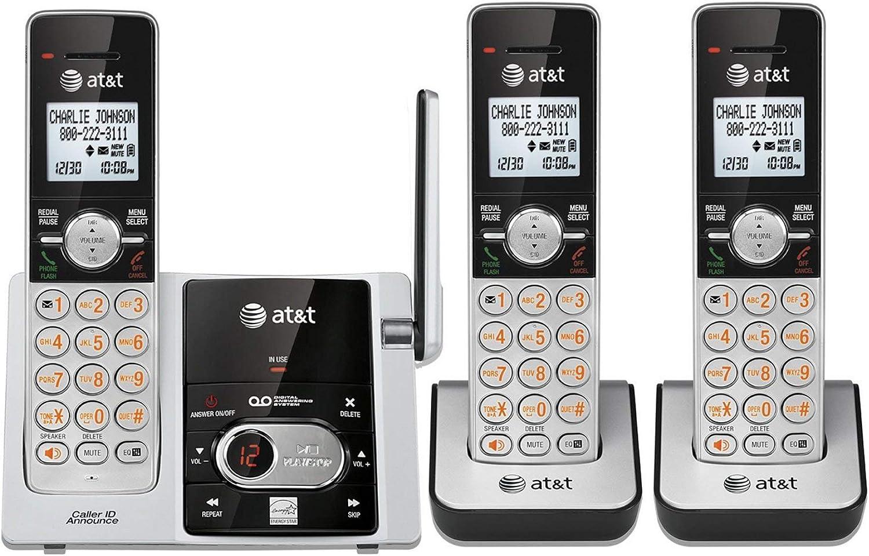 ATT 3 Handset Cordless Answering System With Caller ID EL52303
