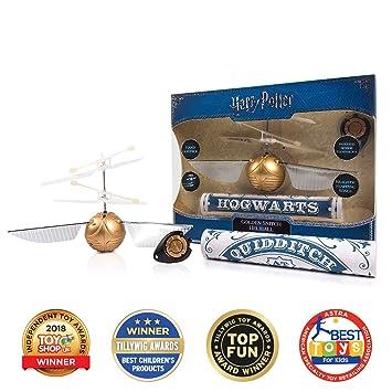 Amazon.com: Wizarding World Golden Snitch Heliball (2 piezas ...