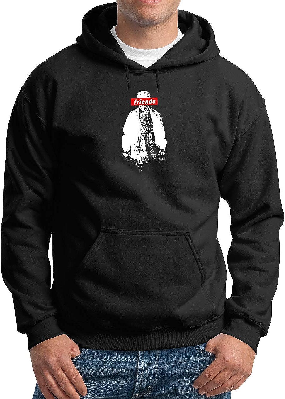 Black MTNACLOTHING Friends Suprem Eleven Stranger 11 Demogorgon/_MA3239 Hoodie Hoody Sweater